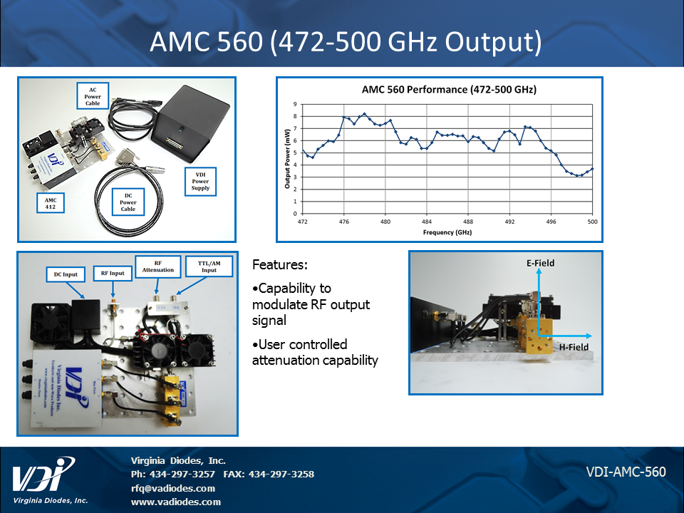 AMC 560 slide 472-500 GHz